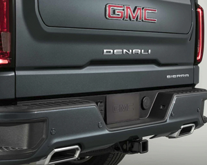 POLISHED DUAL EXHAUST OUTLETS