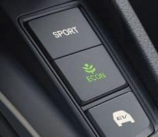 econsport and ev drive modes