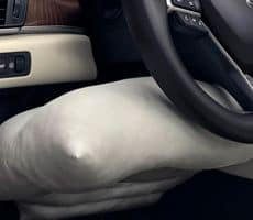 front knee airbags