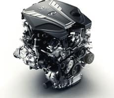 400-HP 3.0-LITER V6 TWIN-TURBO ENGINE 26 HWY MPG*