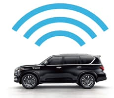 INFINITI INTOUCH™ WITH WI-FI HOTSPOT