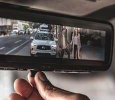 SMART REARVIEW MIRROR YOUR REGULAR REARVIEW MIRROR REIMAGINED