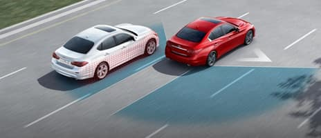 BLIND SPOT WARNING AND BLIND SPOT INTERVENTION® SAFETY BEYOND WHAT YOU SEE
