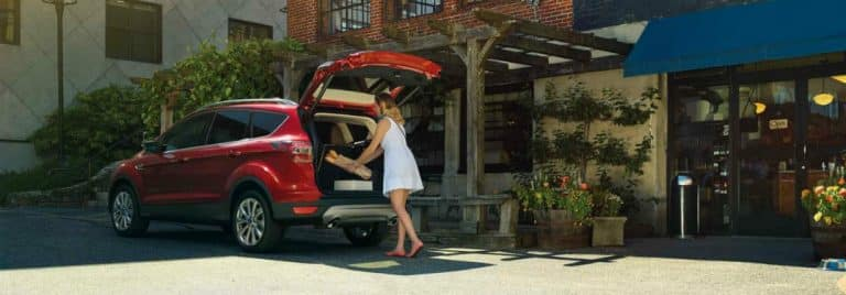 Ford Escape Cargo Space >> Find Out How Much Cargo Space Is In The New Escape Shelor