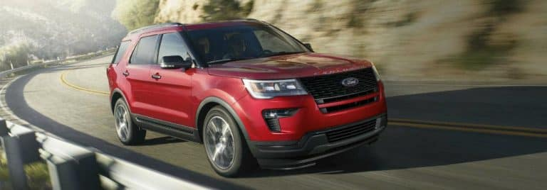 Color Options for the 2018 Ford Explorer