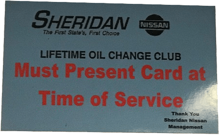 oil change lifetime