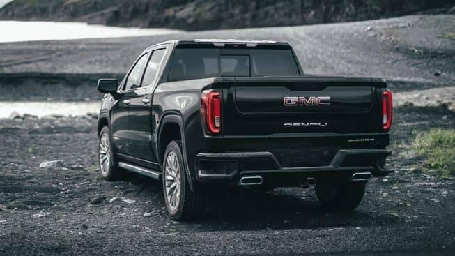 2019 GMC Sierra 1500 dual exhaust