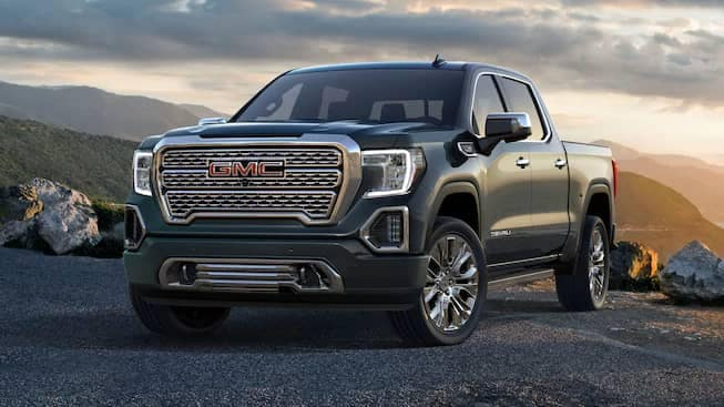 2019 GMC Sierra 1500 front angle picture