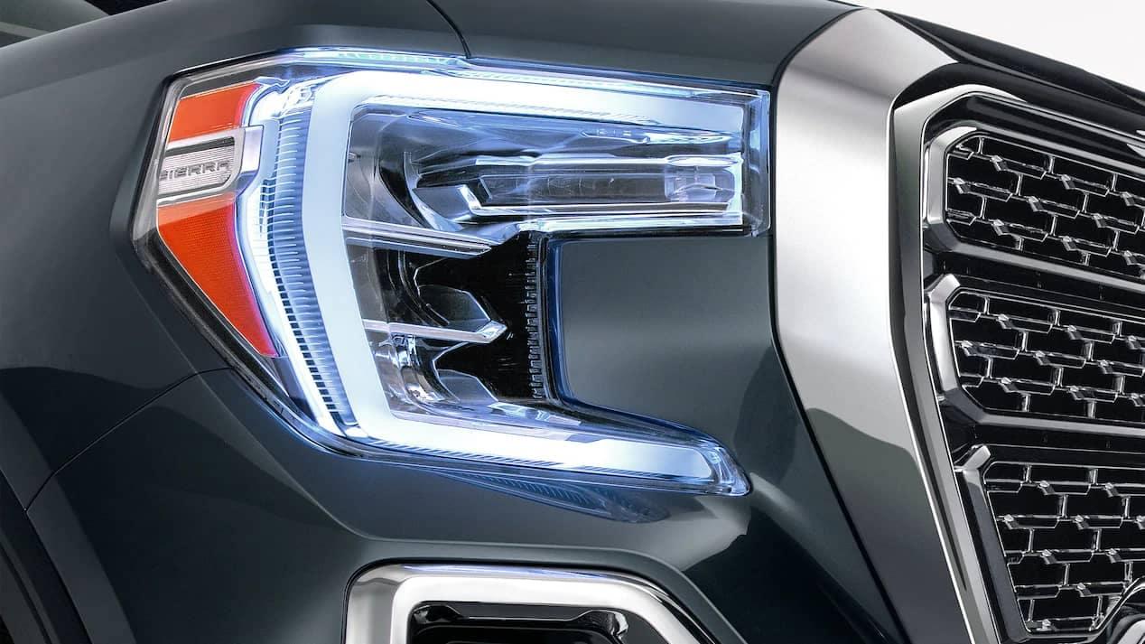 2019 GMC Sierra 1500 headlamp