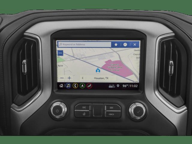 2019 GMC Sierra 1500 interior map
