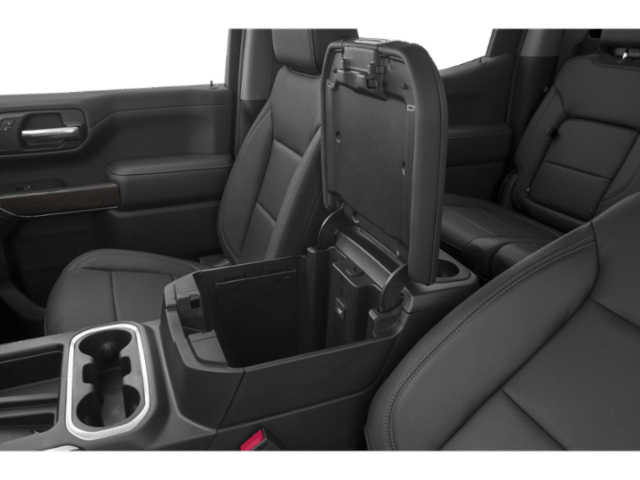 2019 GMC Sierra 1500 interior storage