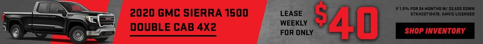 banner for 2020 GMC Sierra 1500