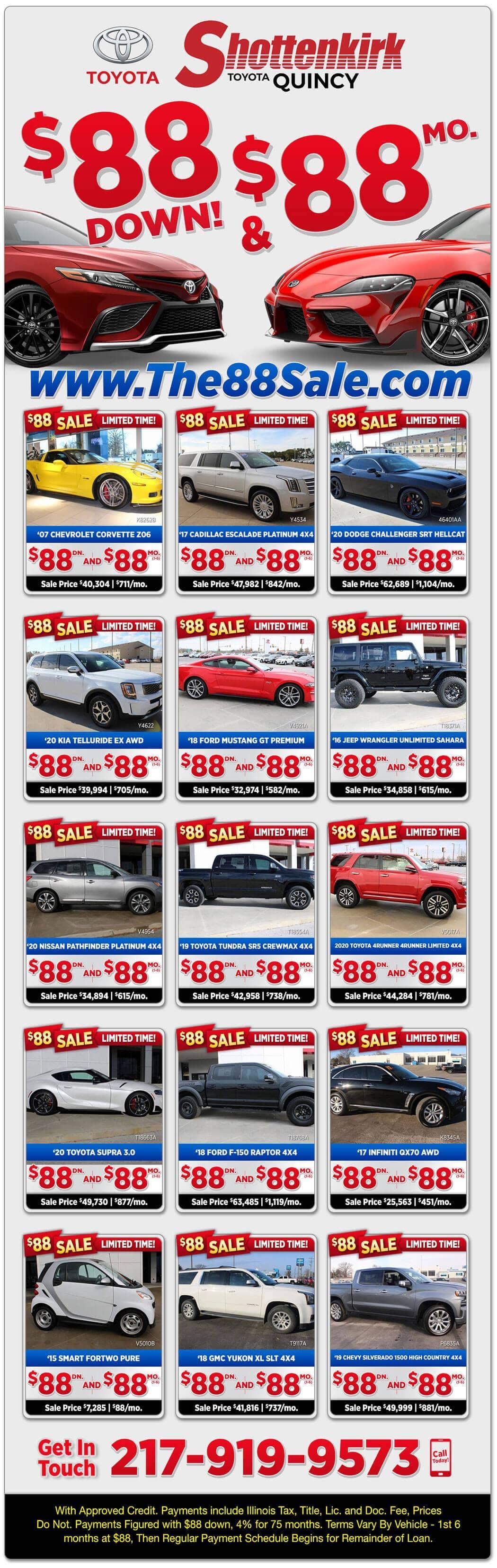 88-a-month-sale