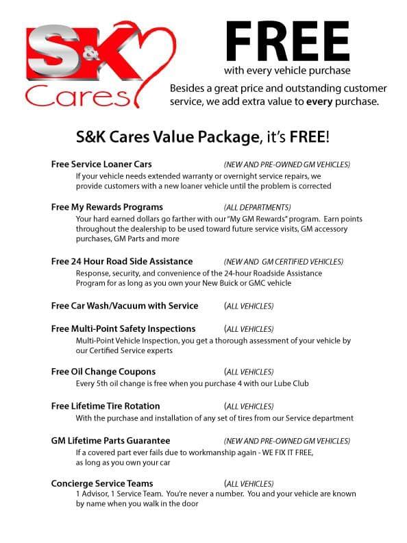 S&K Cares