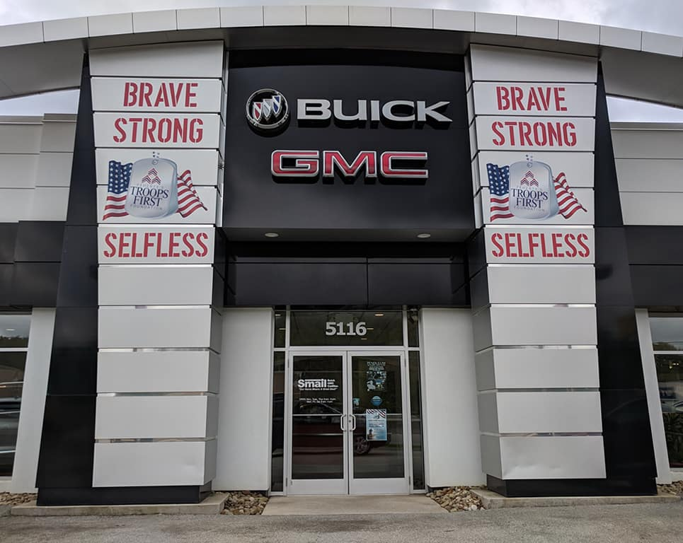 Smail Buick GMC Supports the Troops