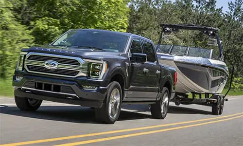 f-150 towing a boat