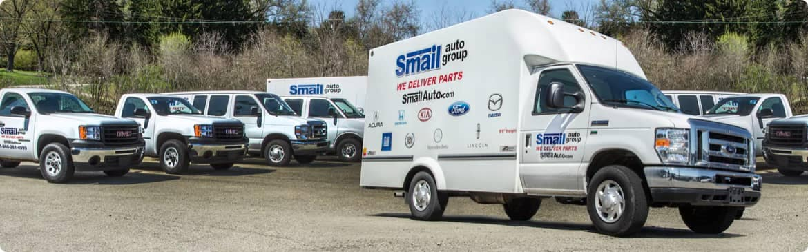 Smail Auto Delivery trucks