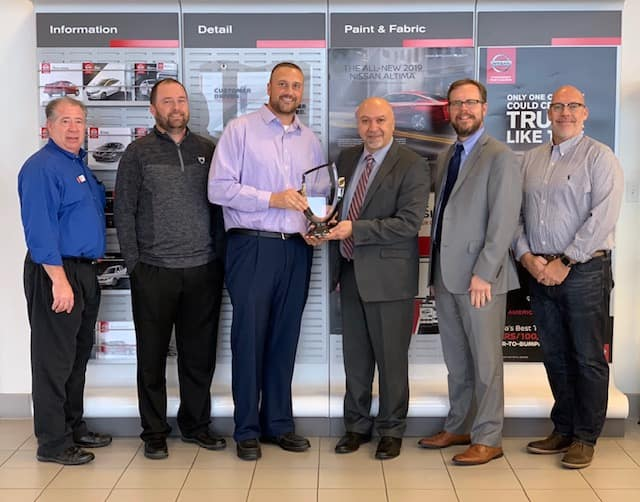 2018 Nissan Award of Excellence
