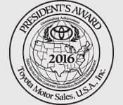 President's Award 2016