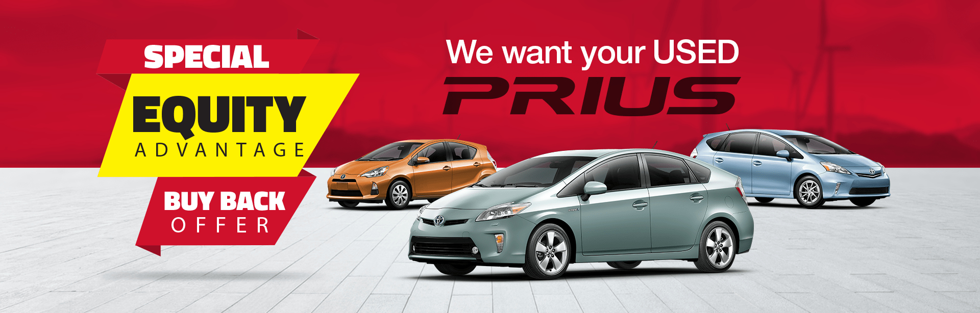 We Want to Buy Your Used Prius