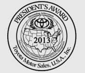 President's Award 2013