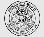 President's Award 2015