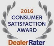 2016 Consumer Satisfaction Award