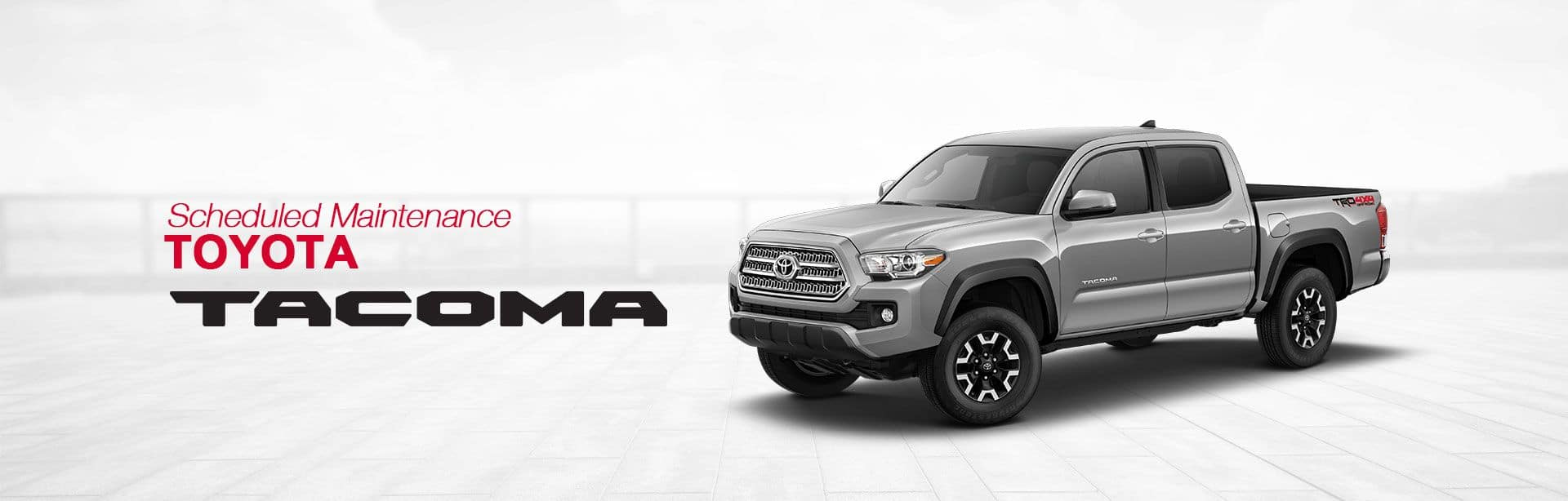 toyota tacoma scheduled maintenance | south dade toyota of homestead