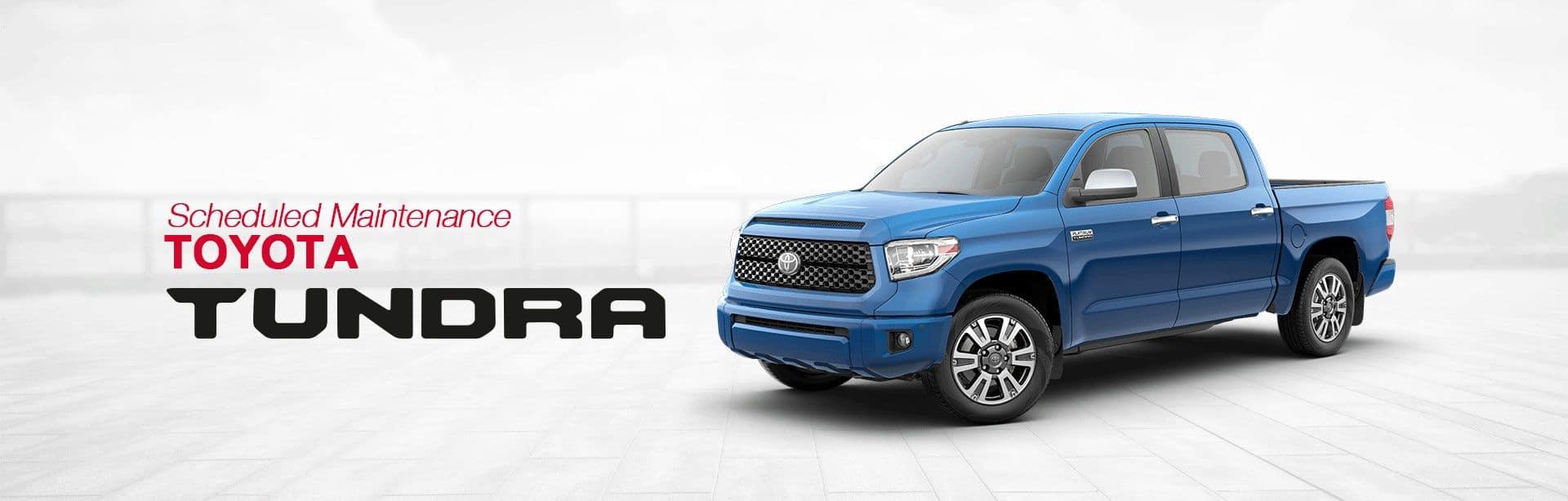 Toyota Tundra Service Schedule