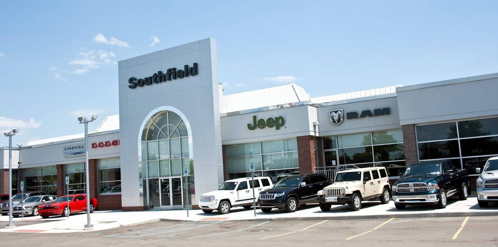 CDJR And Used Car Dealer In Southfield Southfield Chrysler Dodge - Jeep chrysler dealerships