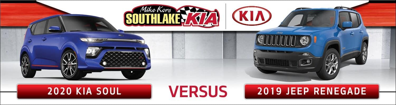 2020 Kia Soul vs. 2019 Jeep Renegade