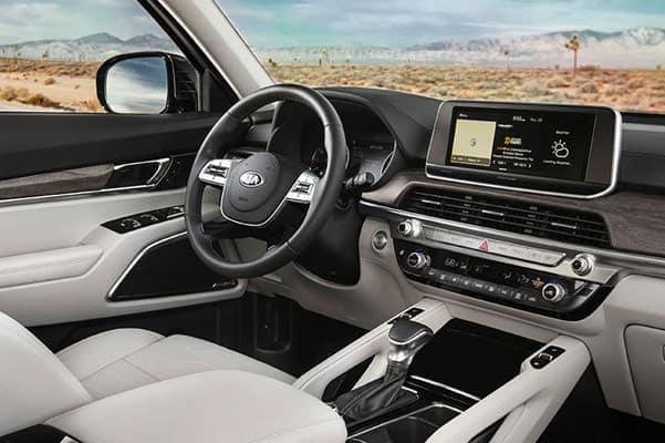 2020 Kia Telluride Driver's Side Interior