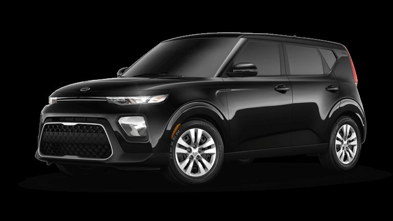 Black 2020 Kia Soul LX