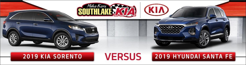 2019 Kia Sorento vs. 2019 Hyundai Santa Fe