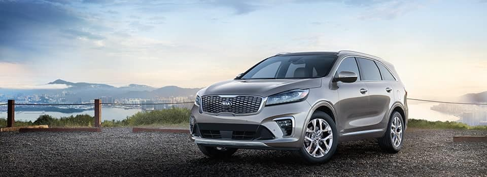 2019 Kia Sorento in grey
