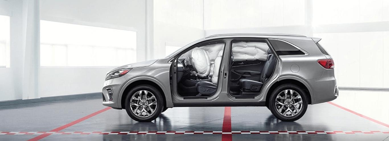 2019 Kia Sorento airbags