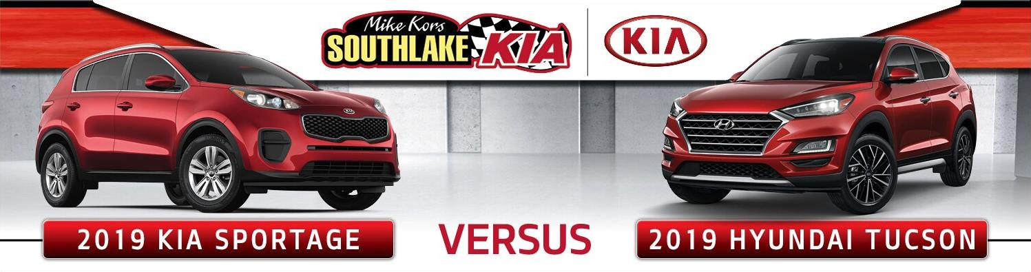 2019 Kia Sportage vs 2019 Hyundai Tucson