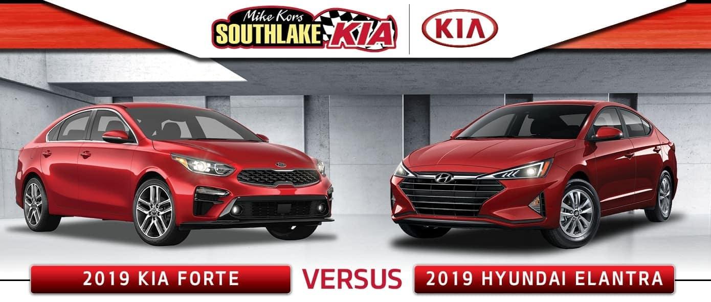2020 Kia Forte vs. 2019 Hyundai Elantra