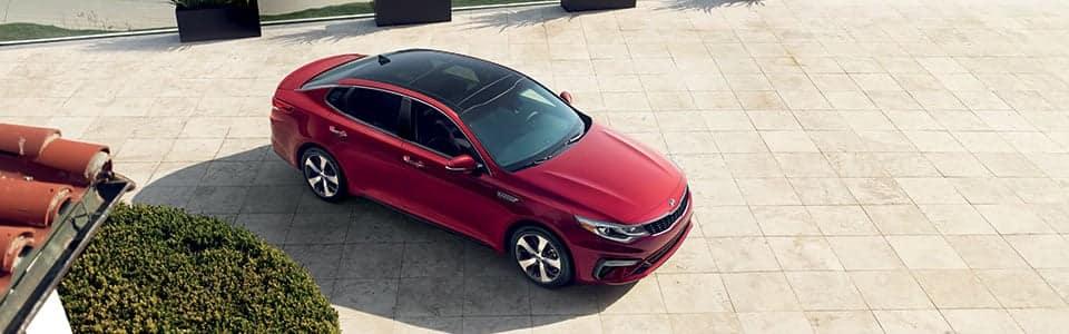 2019 Kia Optima in Red