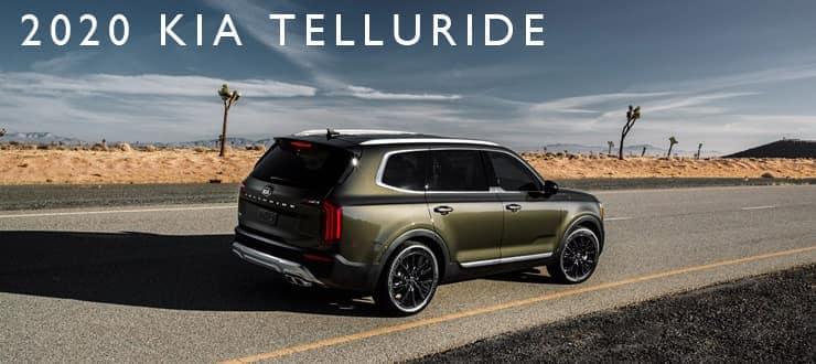 2020 Kia Telluride rear right isometric view