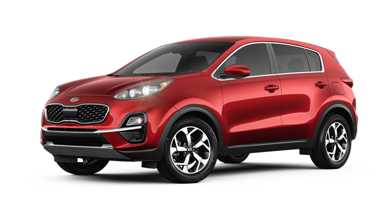 Red 2020 Sportage LX