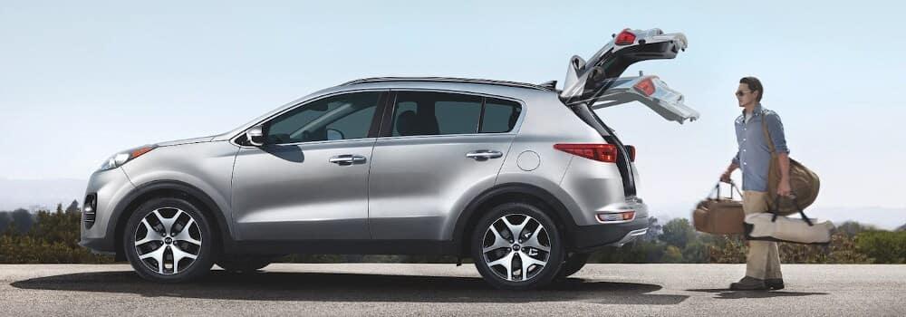 Silver 2019 Kia Sportage