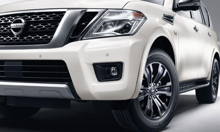 2019 Nissan Armada headlights