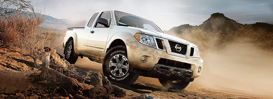 2019 Nissan Frontier offroading