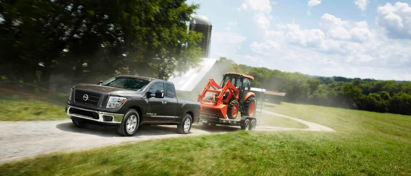 2019 Nissan Titan towing capability