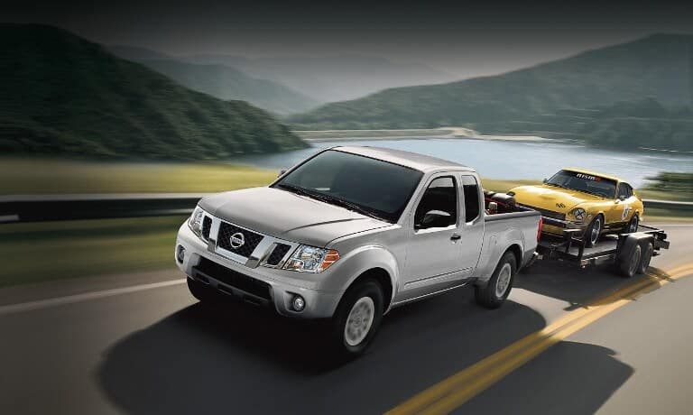 2019 Nissan Frontier on road