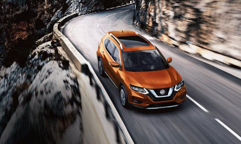 2019 Nissan Rogue on highway