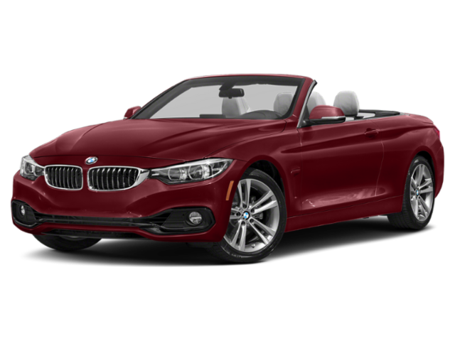 2019 BMW 4 Series Angled Convertible