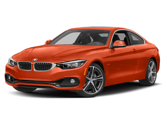 2019 BMW 4 Series Angled red