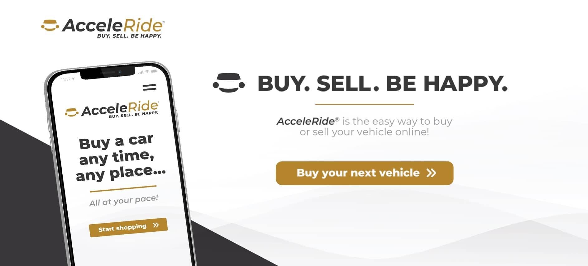 AcceleRide: Buy. Sell. Be Happy.